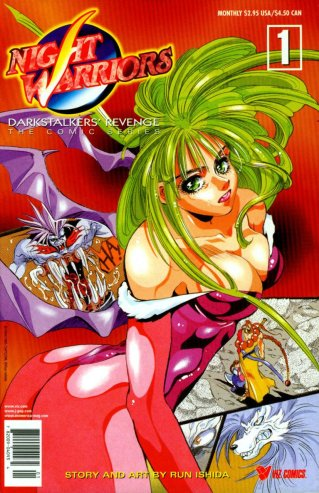 Vampire Hunter Darkstalkers' Revenge manga