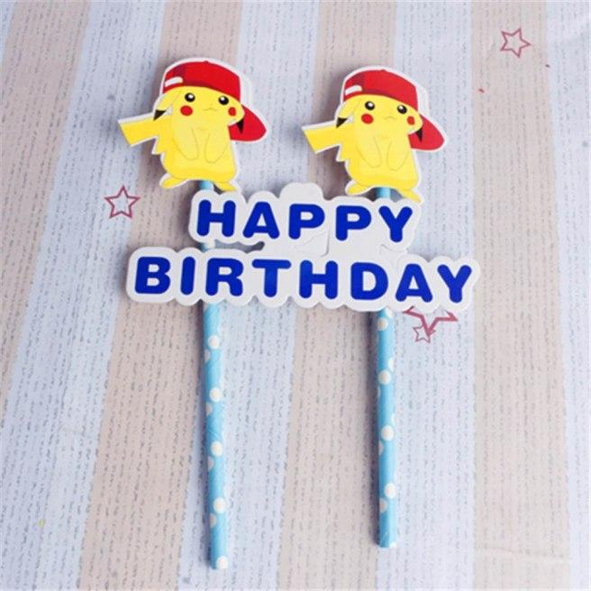 tronzo-1set-pikachu-cake-topper-birthday-party-decorations-kids-happy-birthday-cupcake-toppers-anime-theme-party